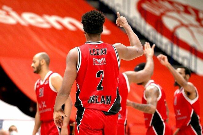 Zachas LeDay   Euroleague nuotr.