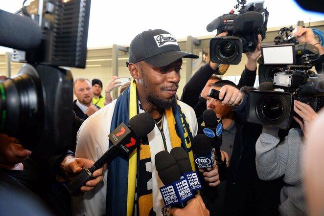 Usaino Bolto treniruotė Australijoje | Scanpix nuotr.