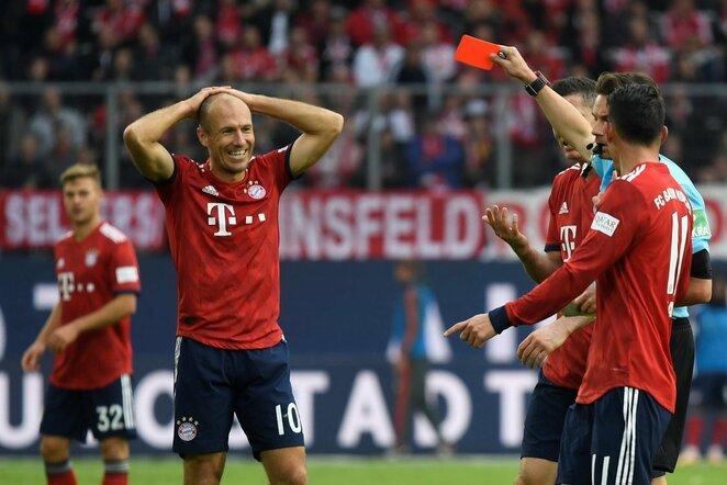 "Vokietijos ""Bundesliga"": ""Wolfsburg"" - Miuncheno ""Bayern"" | Scanpix nuotr."