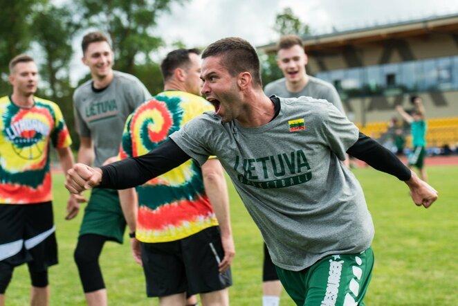 Krepšininkų ir personalo rungtynės | Lino Žemgulio nuotr.