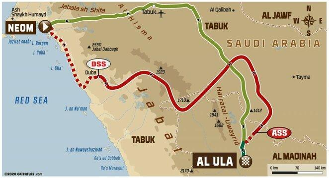 Ketvirtojo etapo žemėlapis | Organizatorių nuotr.