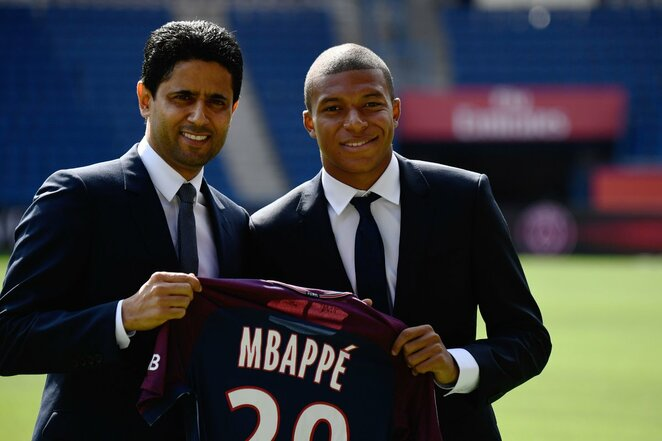 Oficialus Kyliano Mbappe pristatymas | Scanpix nuotr.