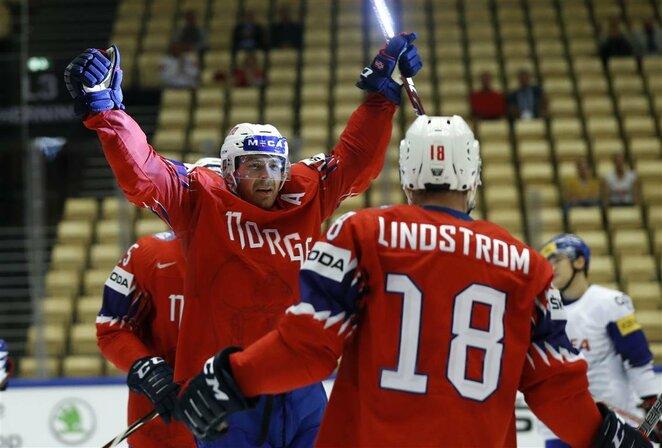 Norvegų ir korėjiečių rungtynės | Scanpix nuotr.