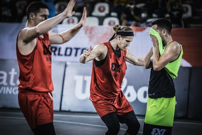 Pasaulio 3x3 turo etapas Dohoje   FIBA nuotr.