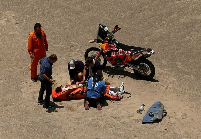Dakaro ralis: ketvirtasis etapas | Scanpix nuotr.