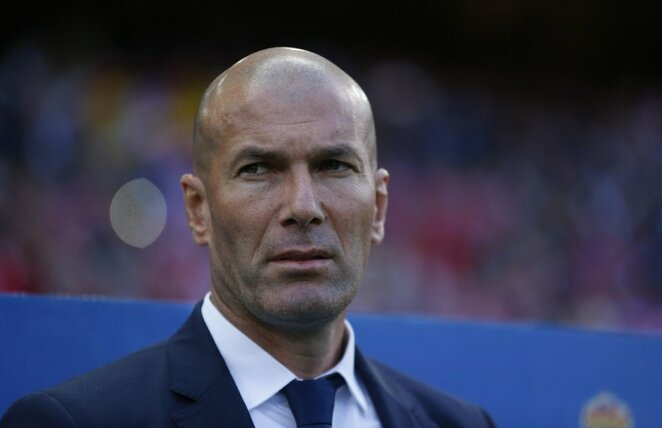 Zinedine Zidane | Scanpix nuotr.