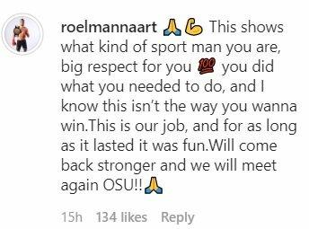 Roelio Mannaarto žinutė | Instagram.com nuotr