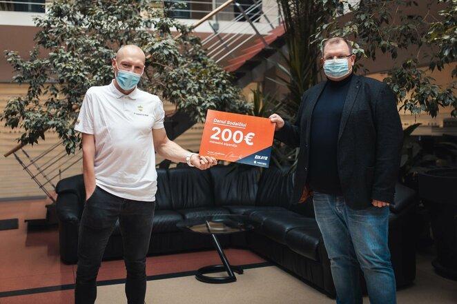 Danas Sodaitis ir Mantas Lebedžinskas | Lietuvos paralimpinio komiteto nuotr.
