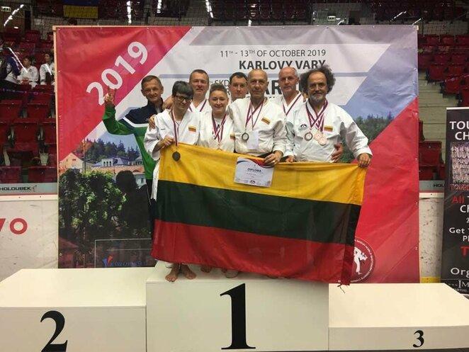 Lietuviai išsaugojo šotokan karatė pasaulio čempionų titulus   Organizatorių nuotr.