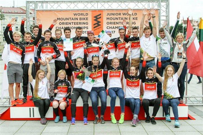 Pasaulio orientavimosi sporto kalnų dviračiais čempionatas Vilniuje | Organizatorių nuotr.