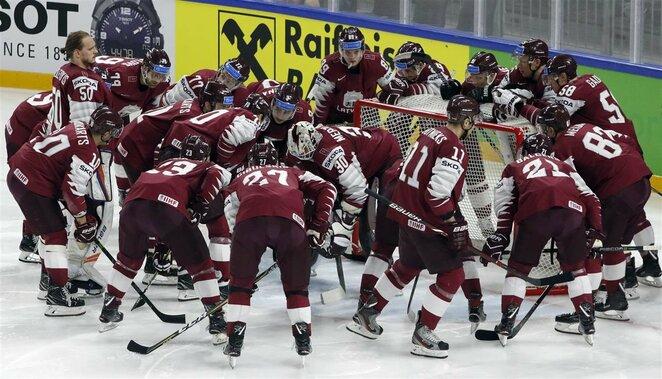 Latvių ir švedų rungtynės | Scanpix nuotr.