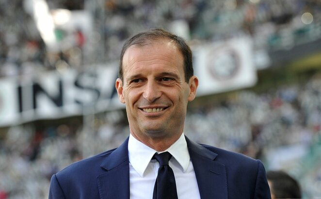 Massimiliano Allegri | Scanpix nuotr.