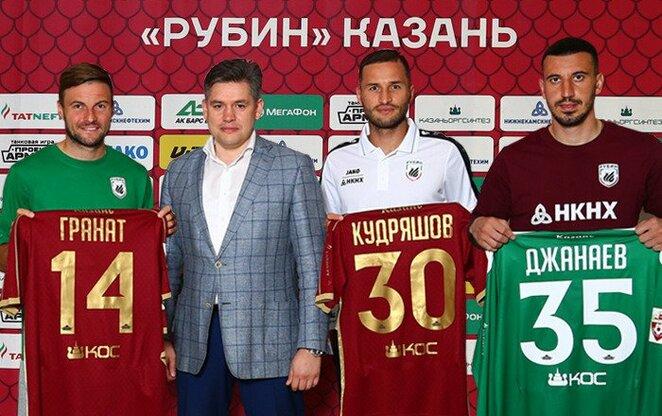 Vladimiras Granatas, Fiodoras Kudryashovas ir Soslanas Dzhanayevas   Organizatorių nuotr.
