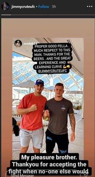 Jimmy Crute'as ir Modestas Bukauskas | Instagram.com nuotr