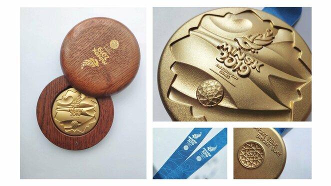 Europos žaidynių medaliai | Organizatorių nuotr.