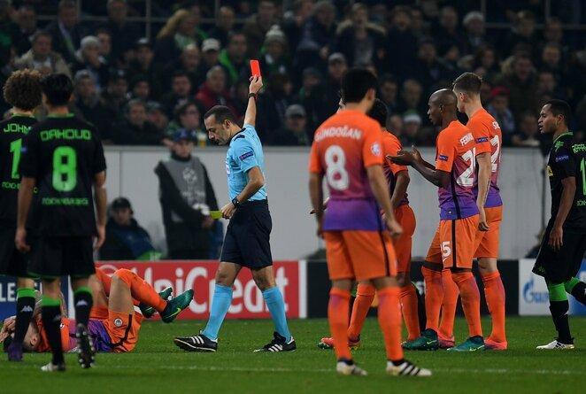 """Monchengladbach"" – ""Manchester City"" rungtynių akimirka"