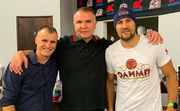 Jevgenijus Gradovičius, Egis Klimas ir Sergejus Kovaliovas | asmeninio archyvo nuotr.