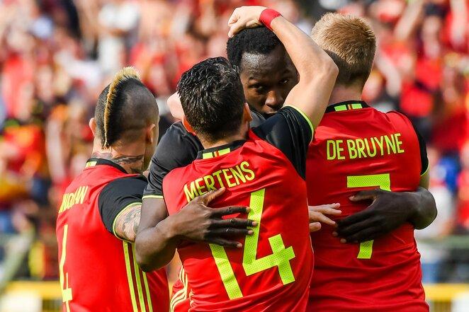 Belgijos futbolo rinktinė   Scanpix nuotr.