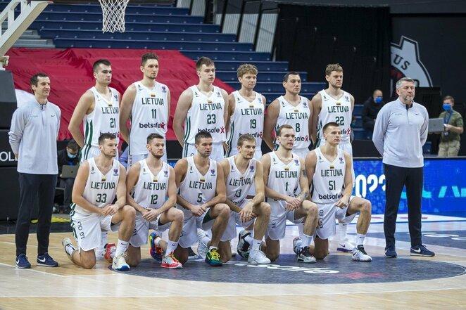 Lietuvių ir danų rungtynės   Roko Lukoševičiaus/BNS Foto nuotr.