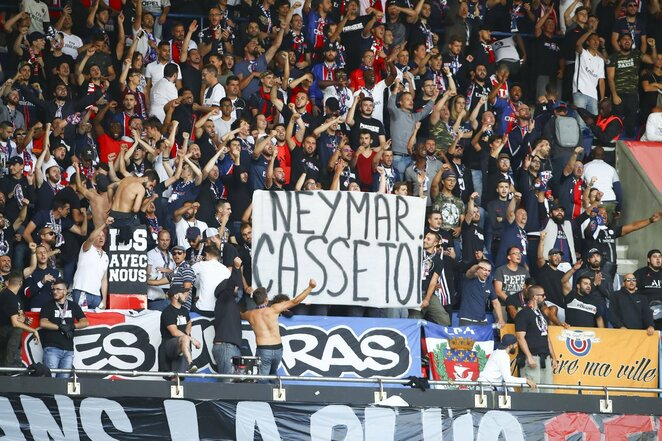 PSG gerbėjai ragina Neymarą palikti klubą  | Scanpix nuotr.