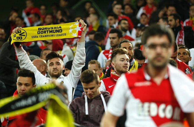 Monako fanai   Scanpix nuotr.