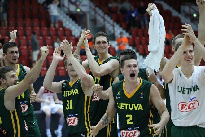Lietuvos jaunimo krepšinio rinktinė | Organizatorių nuotr.