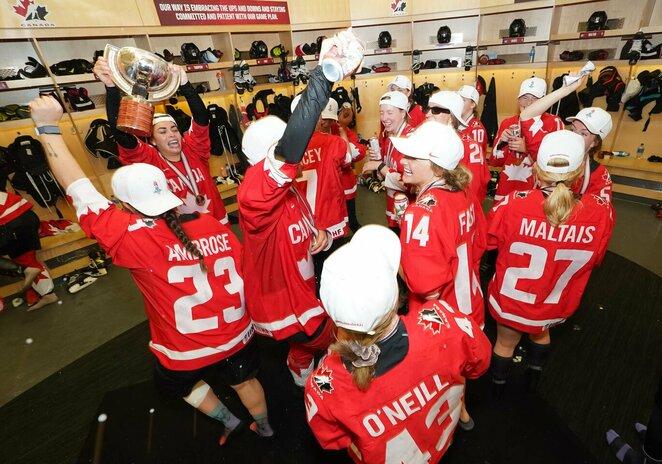 Kanados moterų ledo ritulio rinktinė | IIHF nuotr.