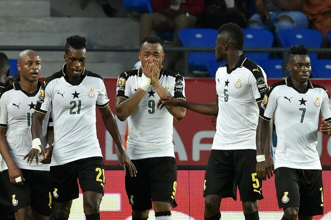 Kongo DR – Ganos rungtynių akimirka   Scanpix nuotr.