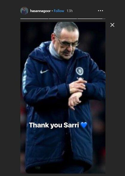 Maurizio Sarri | Instagram.com nuotr