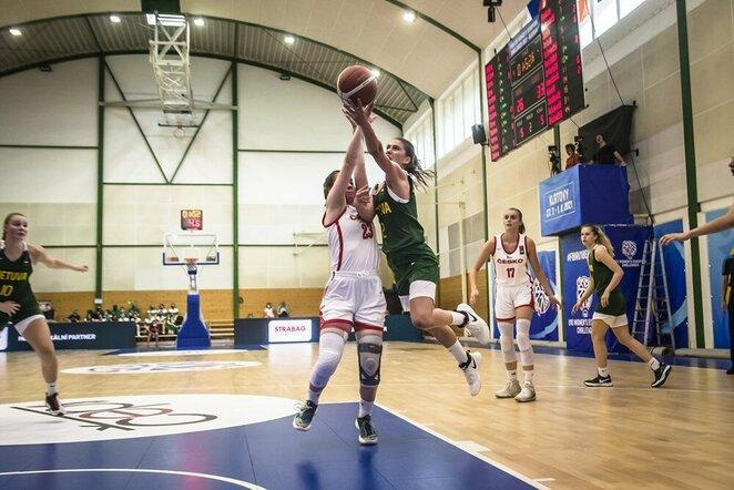 Lietuvių ir čekių rungtynės   FIBA nuotr.