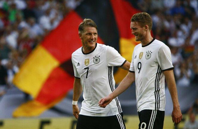 Vokietijos futbolo rinktinė   Scanpix nuotr.