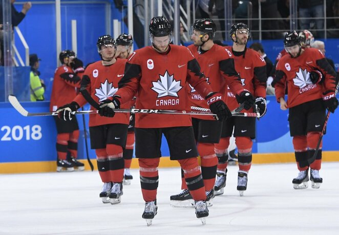 Kanados ledo ritulio rinktinė | Scanpix nuotr.