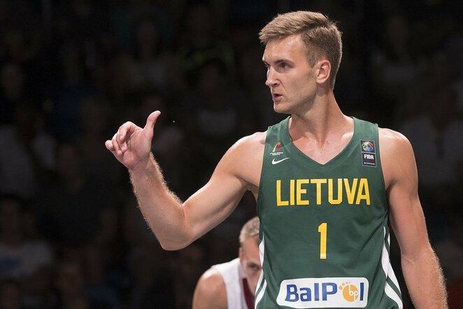 Lietuvių ir latvių rungtynės | FIBA nuotr.