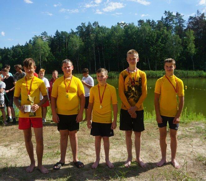 Atvirasis Alytaus kanupolo čempionatas   Organizatorių nuotr.