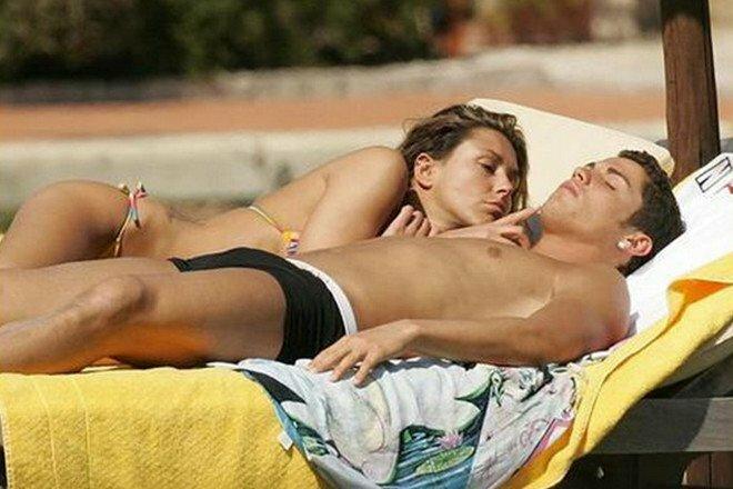 Cristiano Ronaldo ir Karina Ferro   Instagram.com nuotr