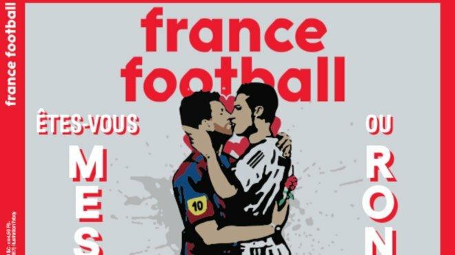 Lionelis Messi ir Cristiano Ronaldo | Organizatorių nuotr.