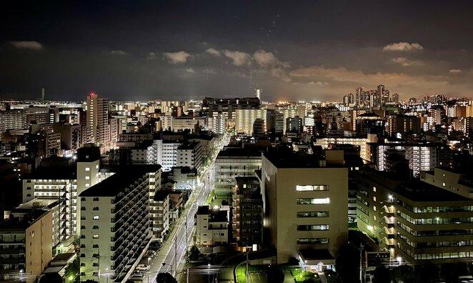 Tokijo panorama pro viešbučio langą | Sportas.lt nuotr.