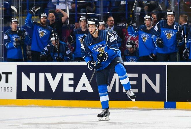 Suomija – Švedija rungtynių akimirka   IIHF nuotr.