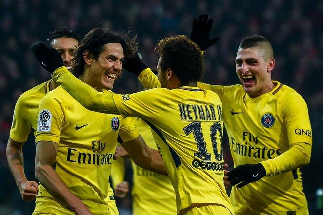 """Lille"" - PSG rungtynių akimirka | Scanpix nuotr."