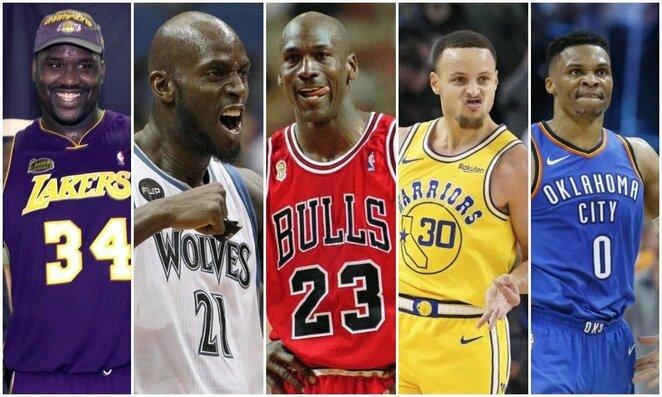 Didžiausias algas gavę NBA krepšininkai   Scanpix nuotr.