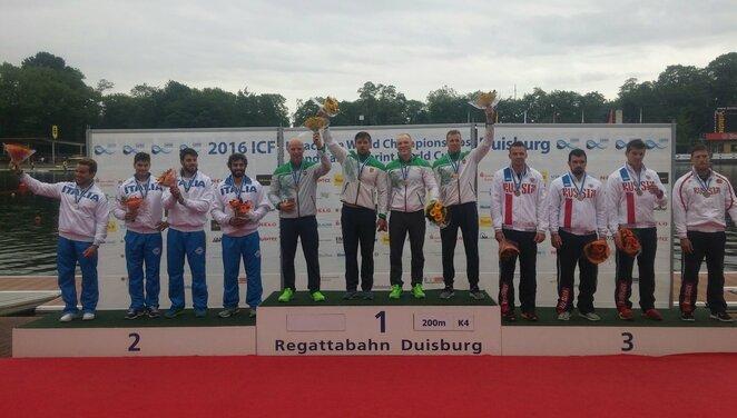 Artūras Seja, Ignas Navakauskas, Aurimas Lankas ir Edvinas Ramanauskas atsiėmė aukso medalius | Organizatorių nuotr.