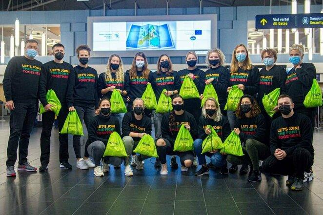 Lietuvos kurčiųjų moterų krepšinio rinktinė   Organizatorių nuotr.