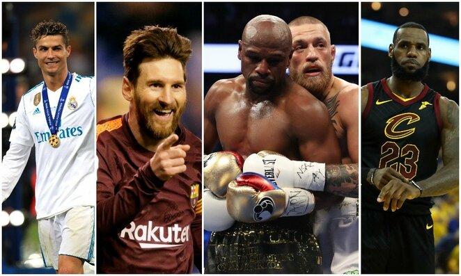 Daugiausiai uždirbantys pasaulio sportininkai | Scanpix nuotr.