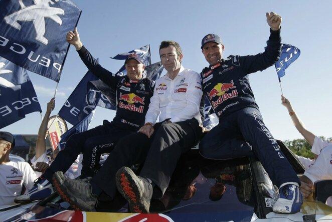 Dvyliktasis Dakaro ralio etapas | Scanpix nuotr.