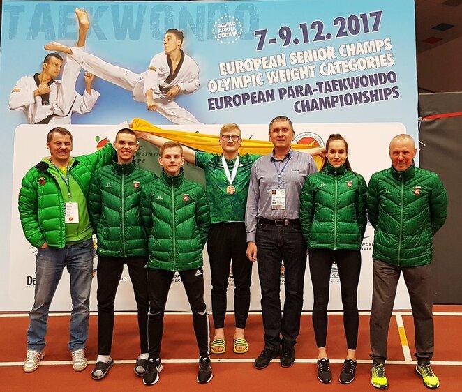Lietuvos taekvondo rinktinė   Organizatorių nuotr.