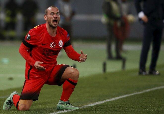Wesley Sneijderis | Scanpix nuotr.