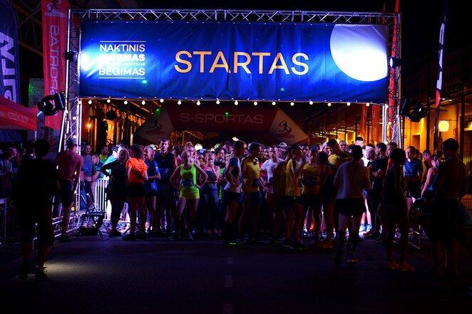 Naktinio Urmo bėgimo 2016 akimirka | Organizatorių nuotr.