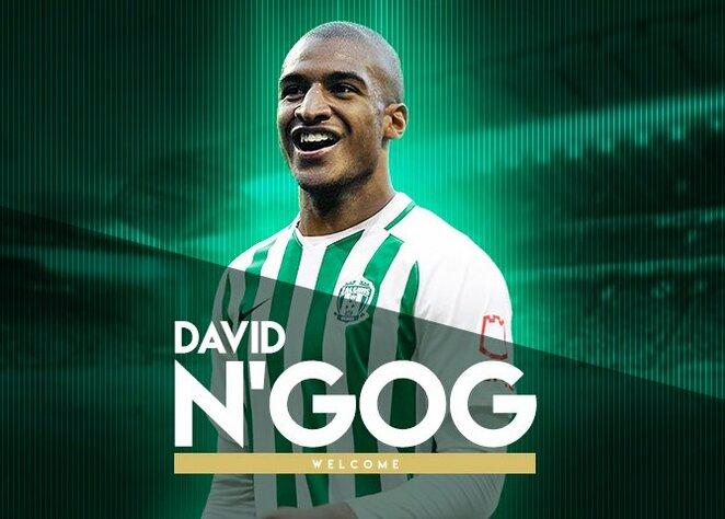 Davidas N'Gogas | Elvio Žaldario nuotr.