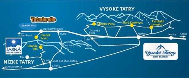 Slidinejimas Tatruose | Organizatoriu nuotr.
