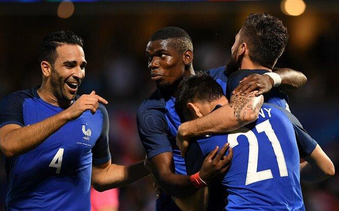 Prancūzijos futbolo rinktinė   Scanpix nuotr.